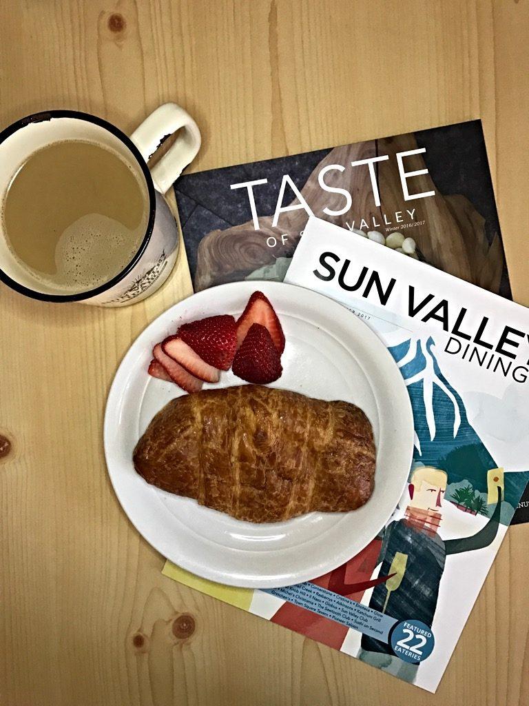 Stuffed Croissants, Sun Valley Idaho
