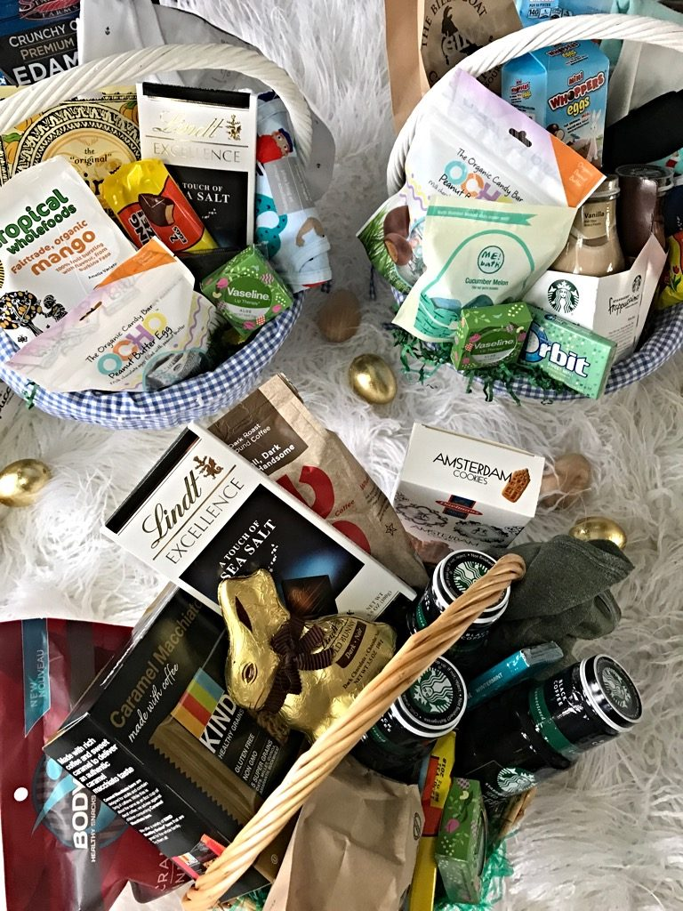 Easter baskets for men