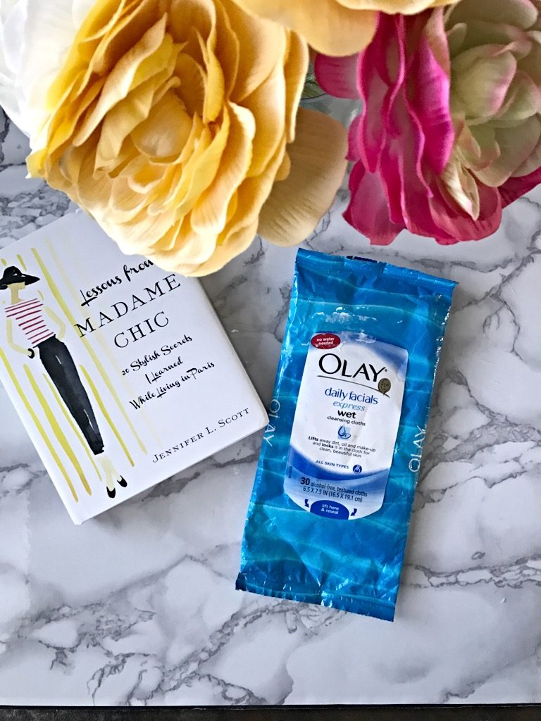 olay face wipes to remove stains,