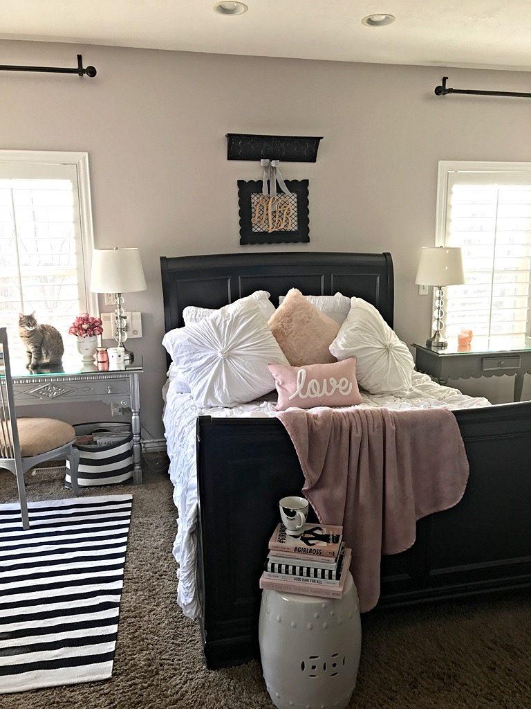 Master Bedroom Spring redo