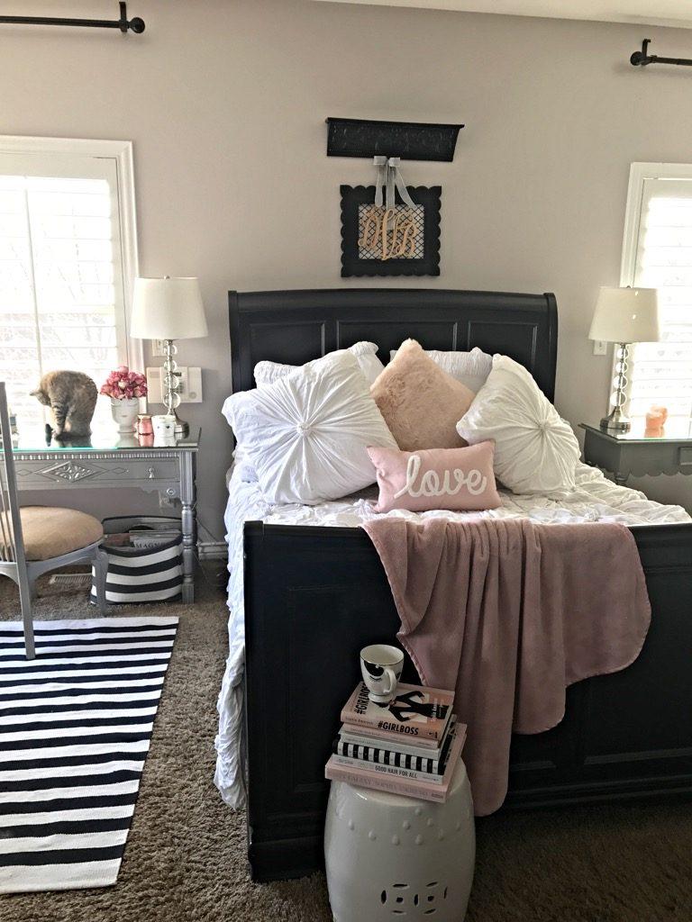 Master Bedroom Spring redo Queen size bedding Anthropology