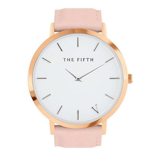 pink rose gold watch