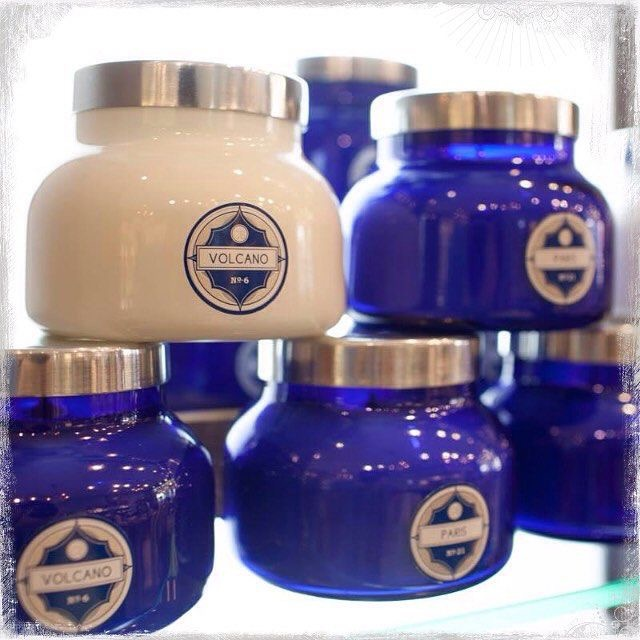 capri blue candles volcano