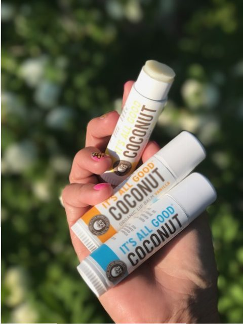 It's all good lip balm Coconut