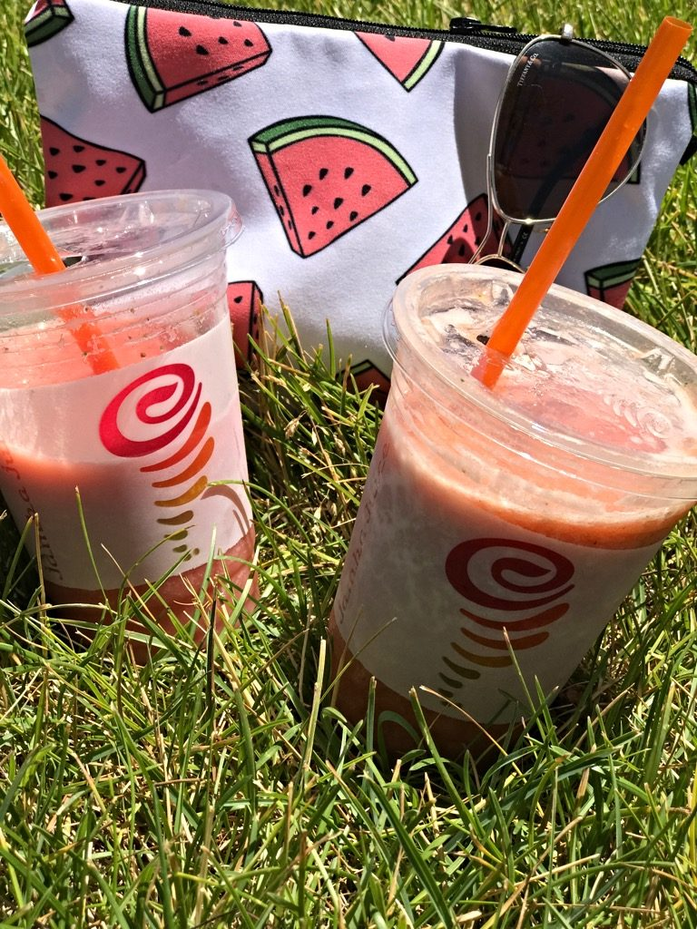 Watermelon, Poolside smoothie @ Jamba Juice