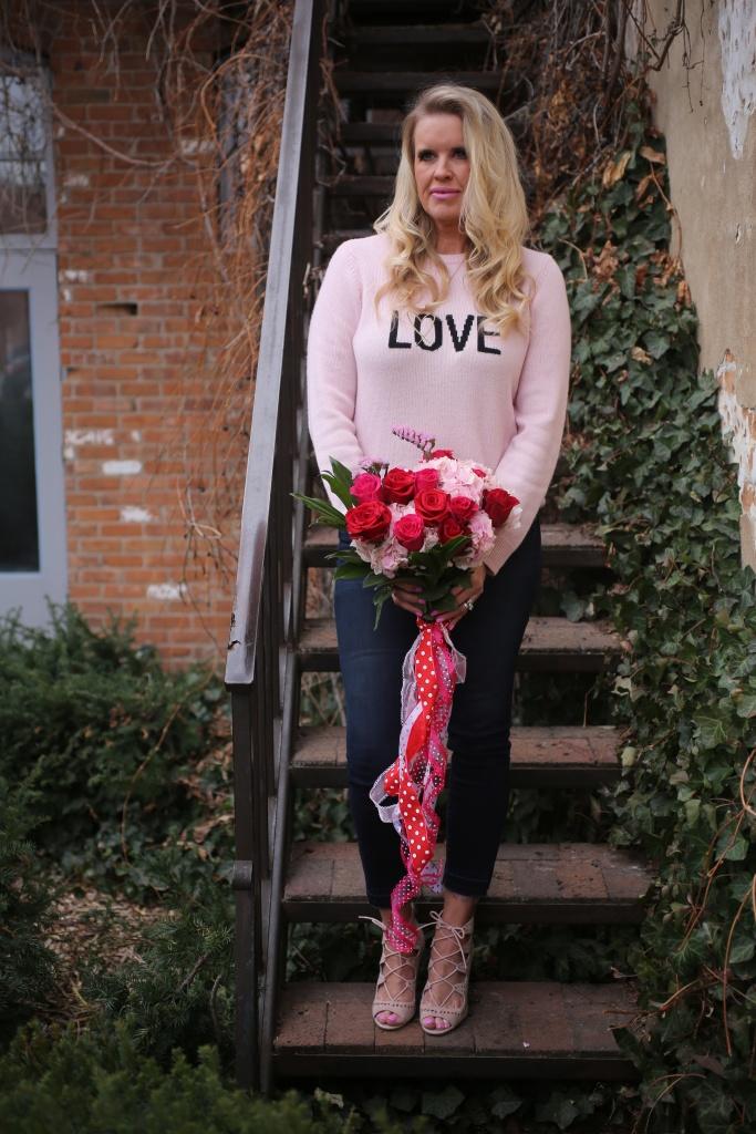 cashmere love sweater Victoria secrets