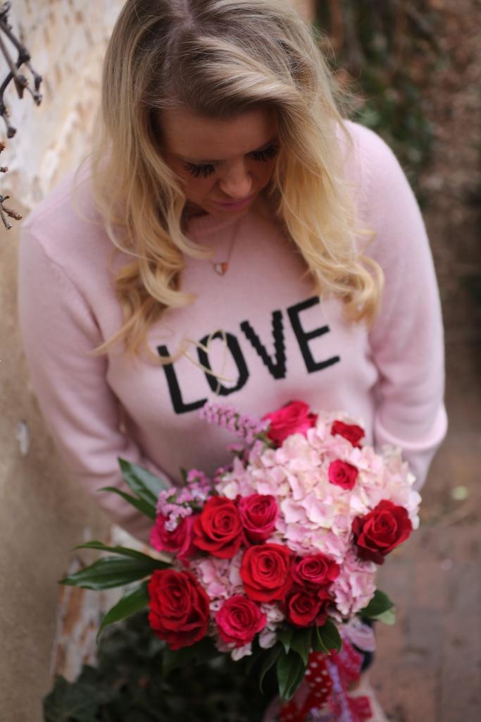 love sweater Victoria secrets