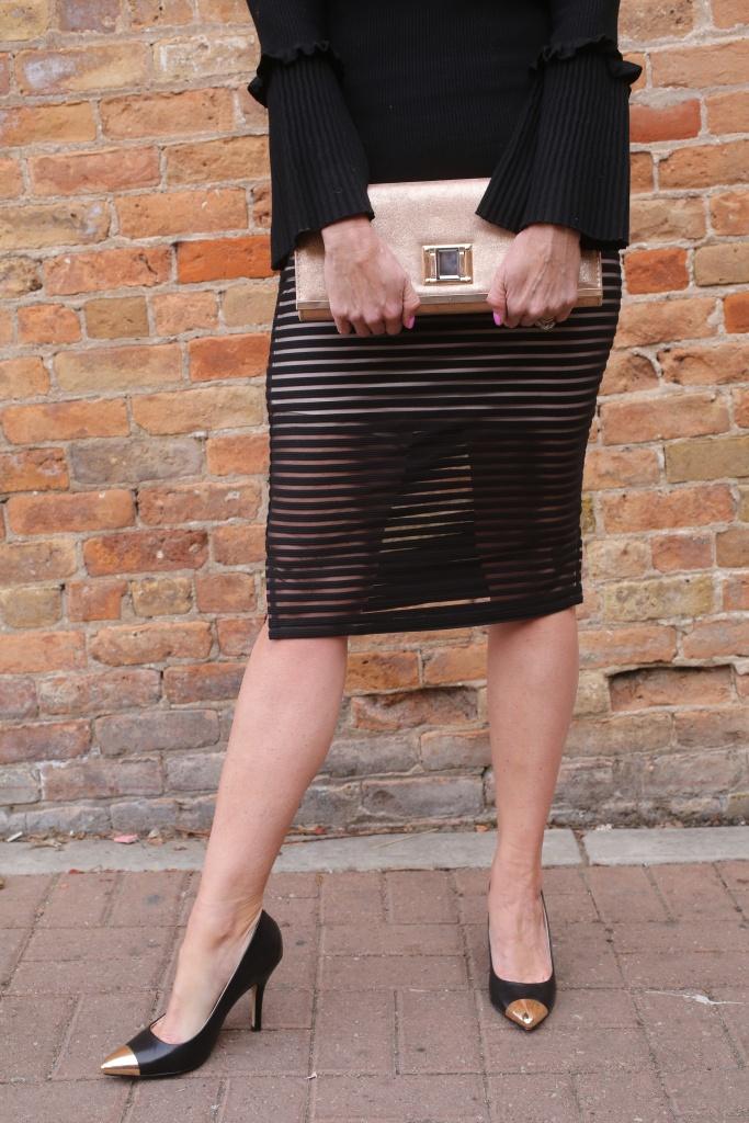 Sara boo skirt, Chinese laundry heals