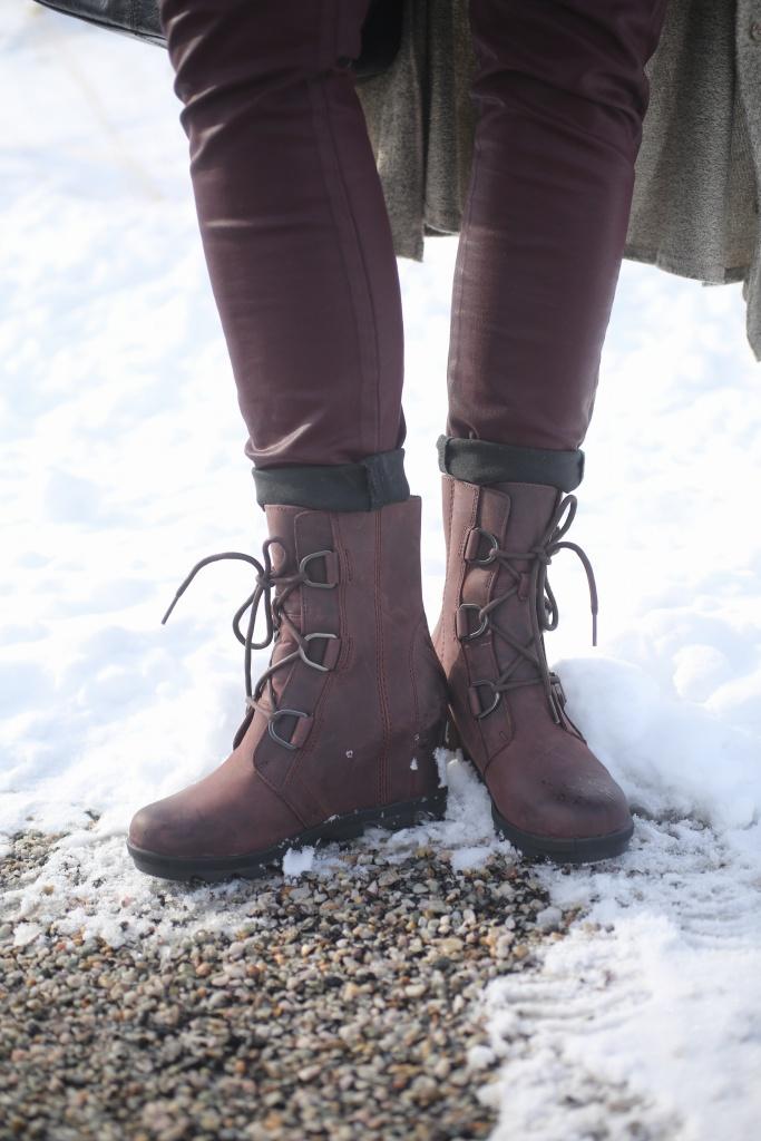 winter street wear boots