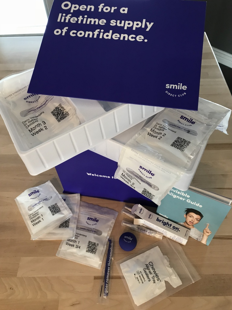 smile direct club kit