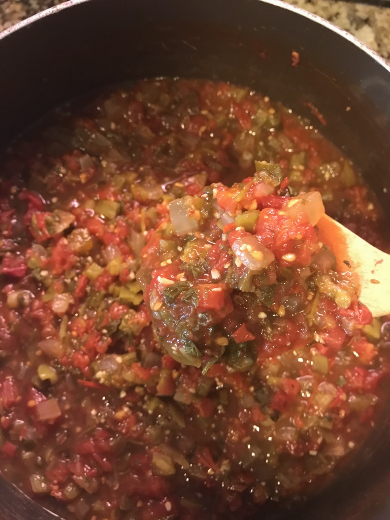 family recipe for salsa