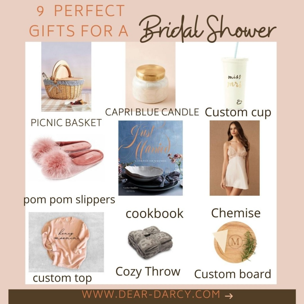 11 Bridal Shower Gifts for the Bride That She'll Absolutely Love